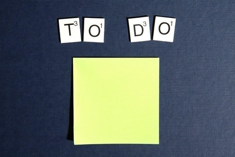 Checklist for WordPress